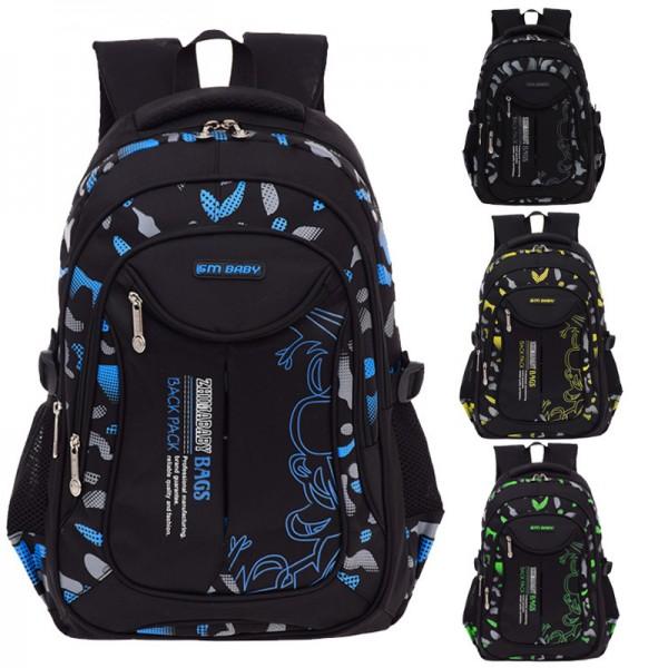 Kids' Casual Lightweight Multi Pockets Oversized Backpack