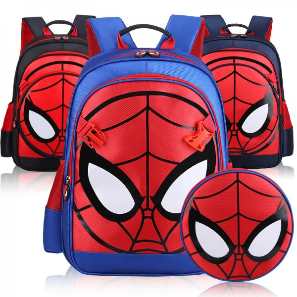 Kids' Affordable Lightweight Spider-man Design Backpack
