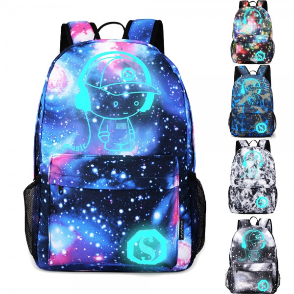 Popular Galaxy Oversized Ultralight Backpack for Primary Boys