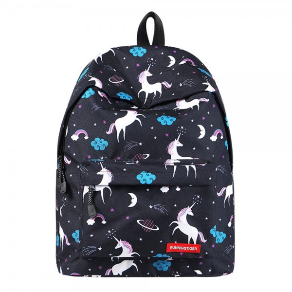 Stylish Unicorn Backpack Kids School Backpack Cute Middle School Bookbag College Bags Women Daypack