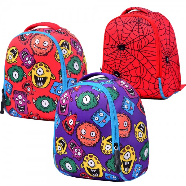 Toddler Kids' Animal Printed Mini Backpack for Kindergarten with Chest Strap