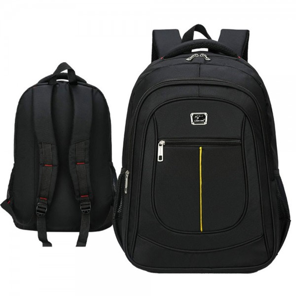 Travel Backpack with USB Charging Port for Teen Boys Oxford Large Capacity School Bag Top Level