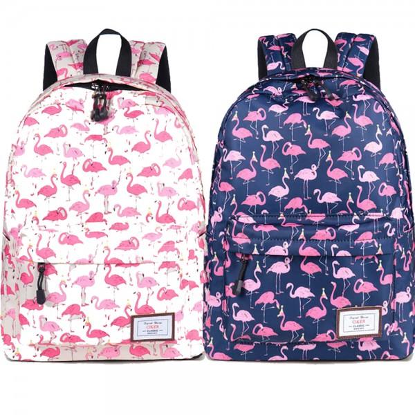 Girl Backpack Durable Fun Printed Waterproof Schoolbag for College School