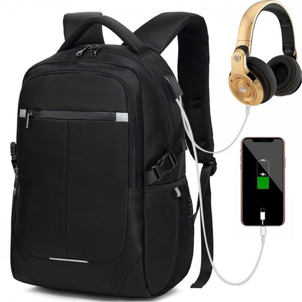 Boys School Laptop Backpack with Charging Port Business Anti-theft Large Capacity Travel Bag